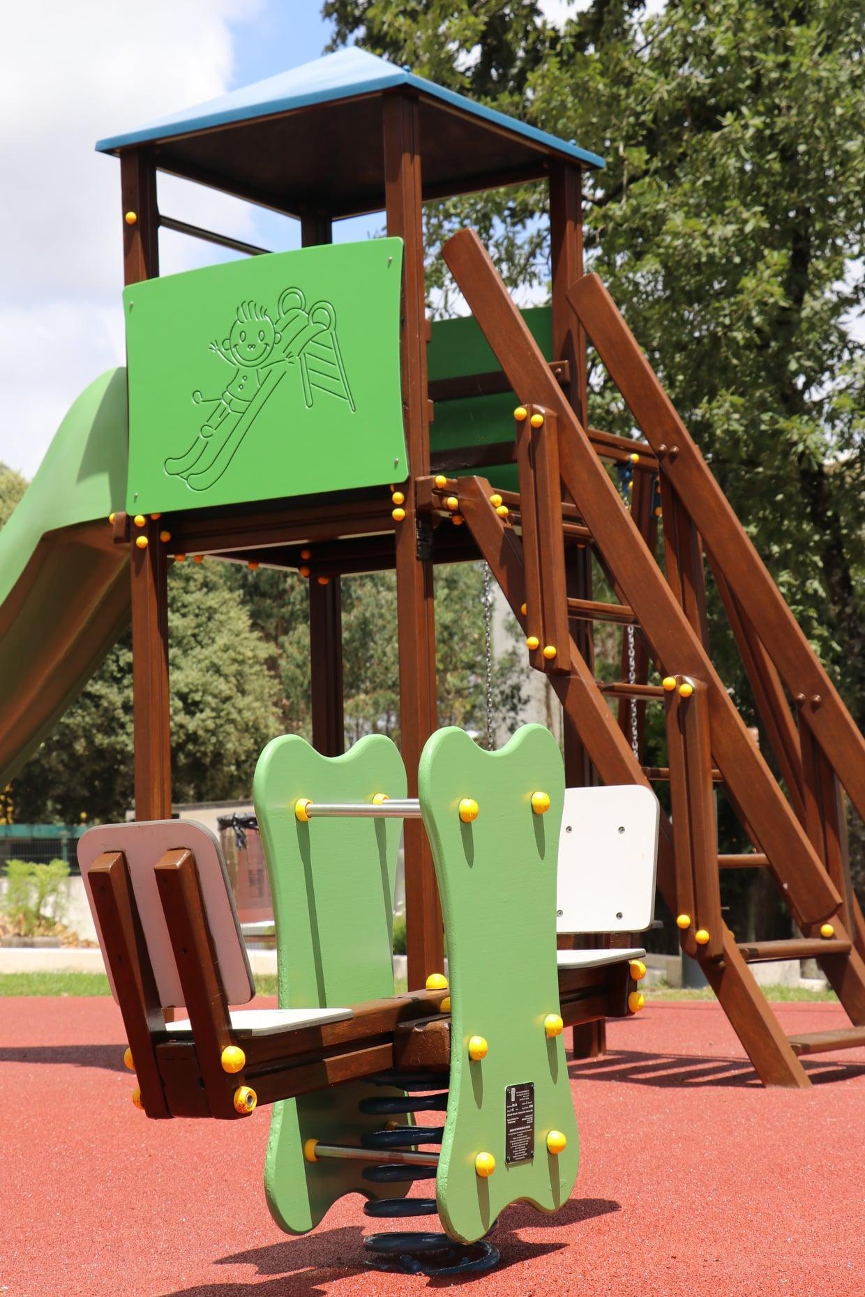 Parque Infantil renovado
